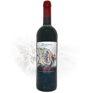 Drago vino da uve stramature rosso Zinzani Vini Faenza