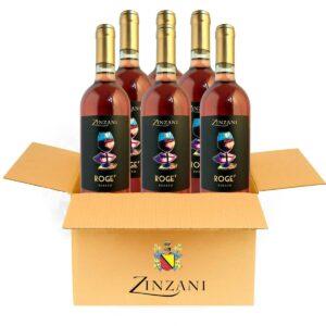 roge vino rosato scatola zinzani vini faenza