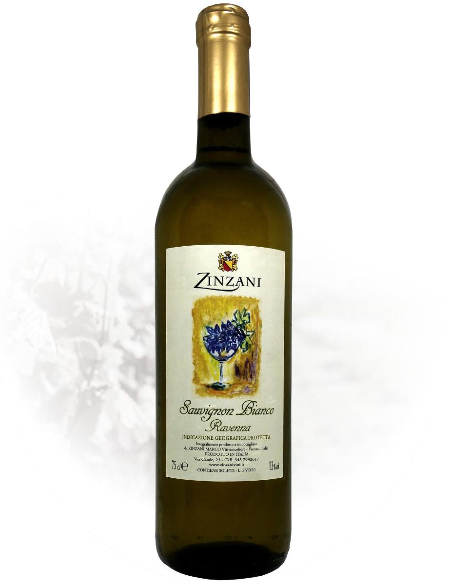 Sauvignon Bianco Ravenna IGP negozio zinzani vini faenza